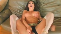 Horny mom with big tits wants nothing but a hard dick drilling her ass