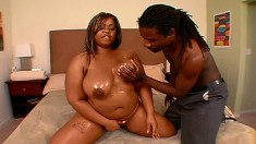 Pleasure Unique is a busty cock-tease who loves getting her cunt eaten