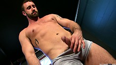 Seeing that it is in top condition Vinny Castillo gets undressed