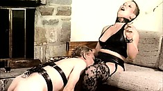Pamela Payne breaks a man and a woman to make them her slaves