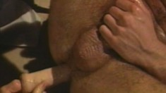 Horny dudes with big cocks take it slow when they get romantic