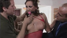 Three cocks may not be enough to tame her insatiable lust for flesh