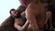 Skilled gay stud Kroy Bama shows Cooper Hill how to have a good time