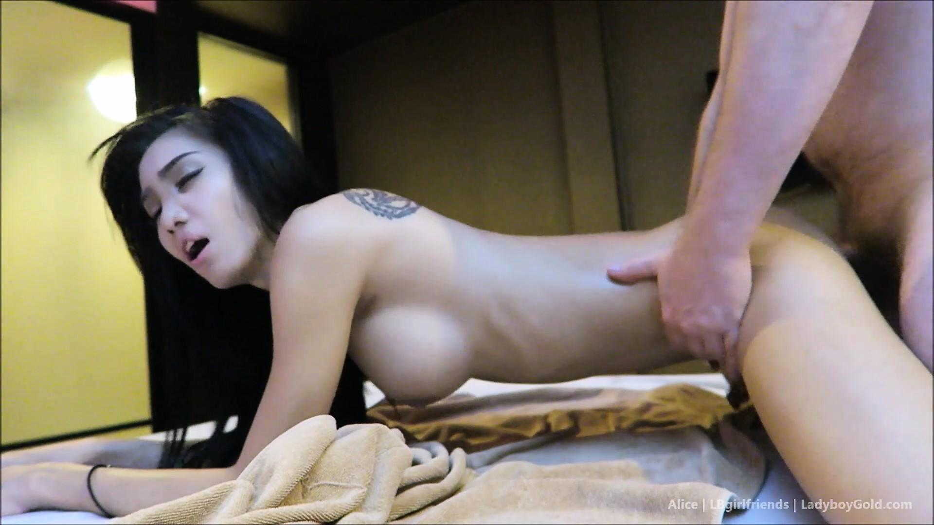 Hot asian boobs
