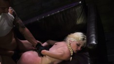 Seductive blonde with pigtails Piper Perri gets pounded by a stranger