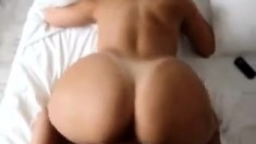 Raw POV anal sex pounding her big white ass doggystyle