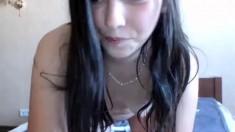 Cute teen anne solo anal masturbation