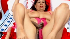 Anal toying pussy fingering and squ