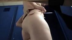 Locker Room Girl Caught Changing Bvr