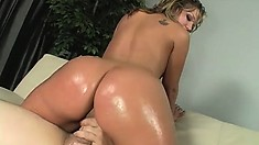 Sexy Nikki Blows While Fingering And Then Gets Drilled By Big Cock