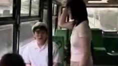 Masturbation In Bus
