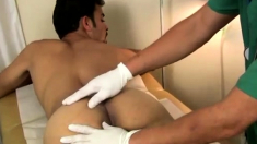 Teen boy first gay physical video He can't hide the
