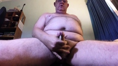 Jerking off and shooting my cum