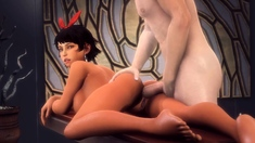 Compilation of Tekken 3D Hentai Naked Babes