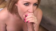 Morgan Reigns has a stiff man tool to tend to her tight pussy needs